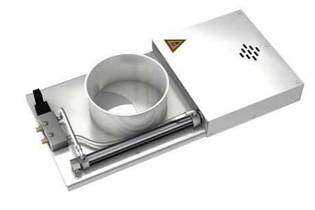 Заслонка VKZ(G) 600*500 площадка 180