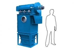 Компактная система удаления пыли с мини-картриджным фильтром MJC
