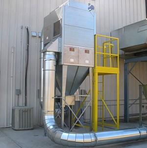 Система удаления пыли с картриджным фильтром FMC