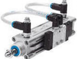 Стандартные цилиндры DNC-V с распределителем
