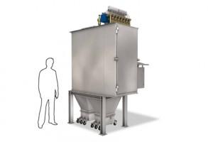 Система удаления пыли с плоскорукавным фильтром FD