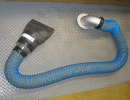 Напольный вытяжной шланг для удаления выхлопных газов