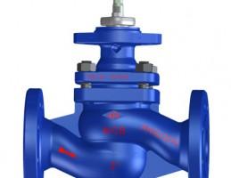 Проходной регулирующий клапан  с фланцами и конусом с ведомым стержнем ARI-STEVI 470 ANSI с электрическими и пневматическими приводами