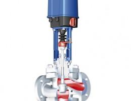 Проходной регулирующий клапан с фланцами и концами под приварку (Приварные патрубки) ARI-STEVI 472 с электрическими и пневматическими приводами
