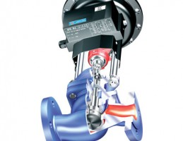 Клапан регулирующий ARI-STEVI 470/422 c пневматическими и электрическими приводами