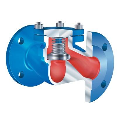 Обратный клапан, металлическое уплотнение ARI-CHECKO-V; ARI-CHECKO-D