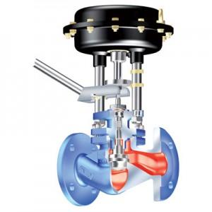 Шламовый клапан ARI-STEVI BBD 415 с пневмоприводом