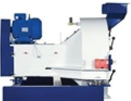 Горизонтальная центрифуга для сепарации металлической стружки и смазочно-охладительных жидкостей