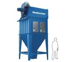 Система удаления пыли с картриджным фильтром MJC