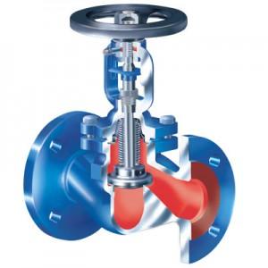 Запорный клапан  ARI-FABA-PLUS ANSI не требующий обслуживания и сильфонным уплотнением