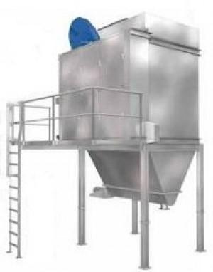 Система удаления пыли с плоскорукавным фильтром FS