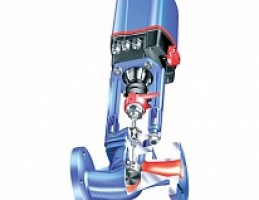 Клапан проходной регулирующий ARI-STEVI 440 с электрическими и пневматическим приводом