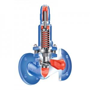 Перепускной клапан ARI-PRESO с пружинным управлением