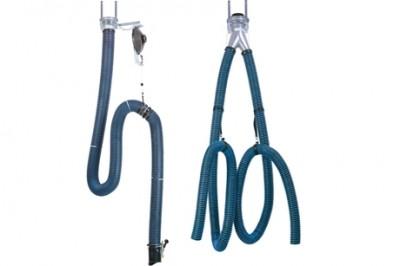 Одинарные и двойные шланги для систем удаления выхлопных газов